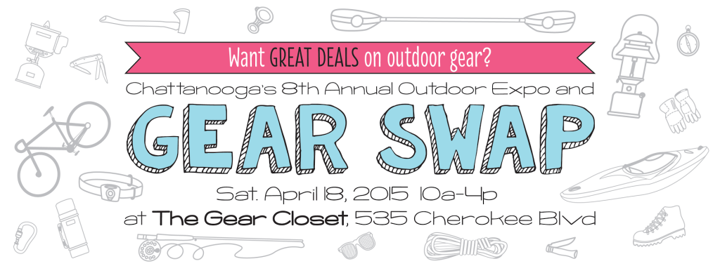 Chattanooga's Spring Gear Swap is coming to the Gear Closet!