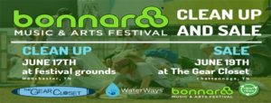 Bonnaroo Clean-up & Sale